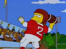 Watch and share Nelson Muntz GIFs and Touchdown GIFs by Falconbox on Gfycat
