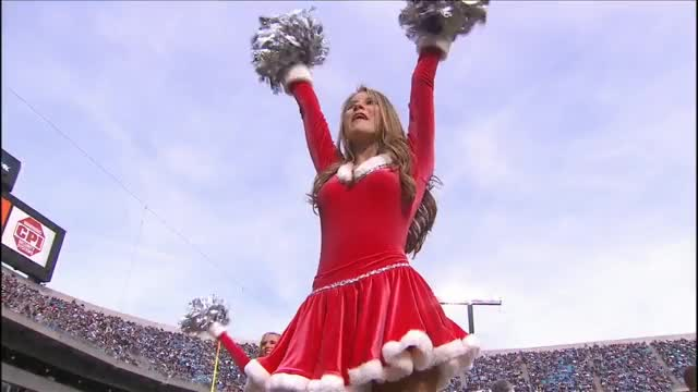 Watch and share Christmas GIFs and Nfl GIFs by cheerleaders on Gfycat