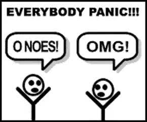 Watch and share Gif Everybody Panic Stick Figure Photo: Everybody Panic Oh-noes-everybody-panic.gif GIFs on Gfycat