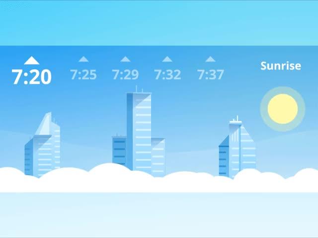 Watch and share Sunset Sunrise Animation Tubik Studio GIFs on Gfycat