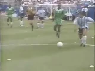 Watch and share Gol De Caniggia A Nigeria (Diegoo! Diegooo!) GIFs on Gfycat