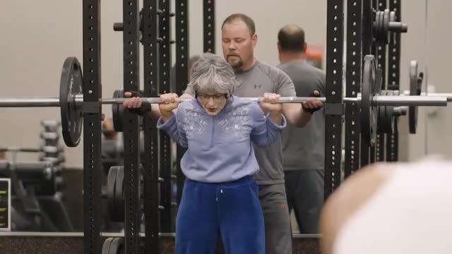 Watch Powerlifting Grandma GIF on Gfycat. Discover more related GIFs on Gfycat