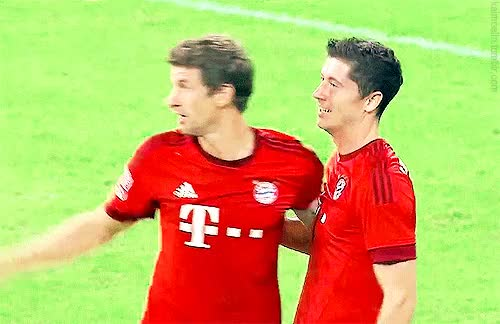 Watch and share Robert Lewandowski GIFs and Goal Celebration GIFs on Gfycat
