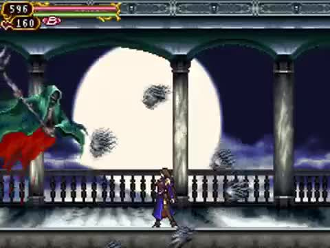 Watch and share Castlevania Order Of Ecclesia - Death GIFs by Qaiss El-Bairoti on Gfycat