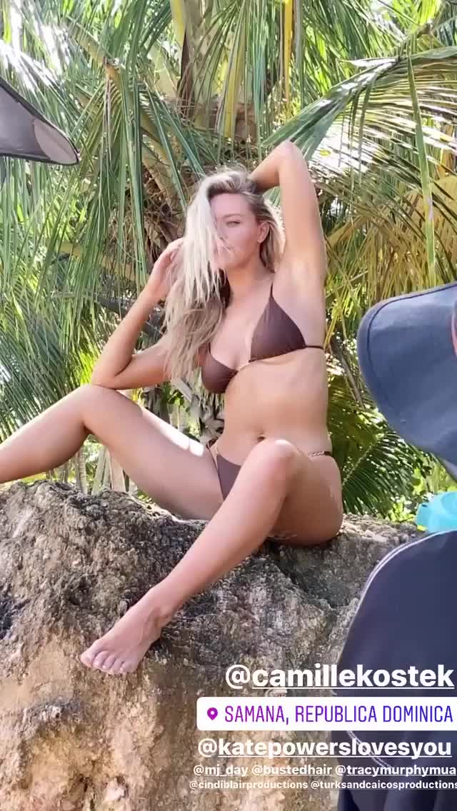 Watch and share Camille Kostek GIFs by Sensual on Gfycat