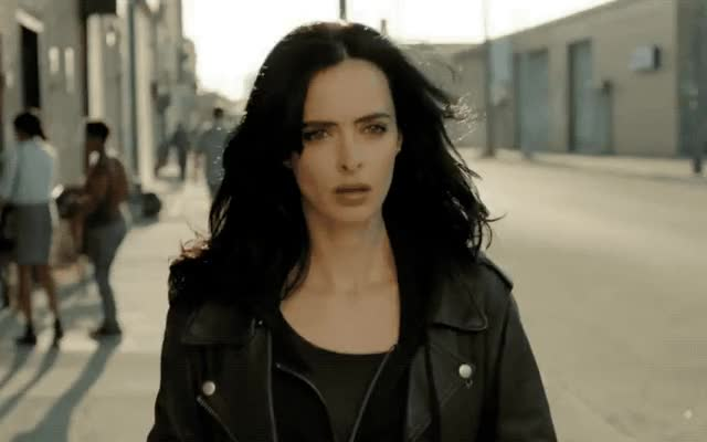 Watch this jessica jones GIF by GIF Queen (@ioanna) on Gfycat. Discover more a, back, camera, jessica, jessica jones, jones, krysten ritter, marvel, netflix, picture, she's, take GIFs on Gfycat