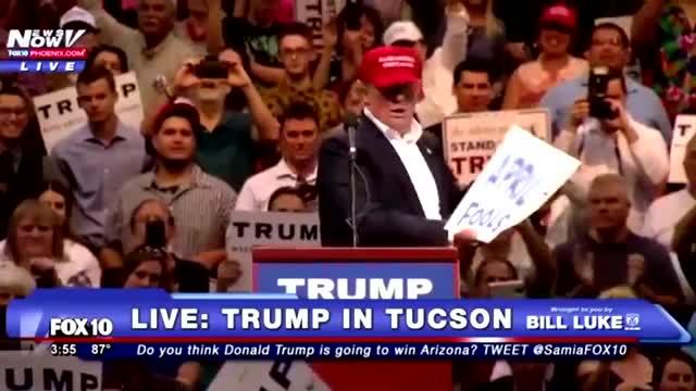 Donald Trump's Huge Campaign Announcement