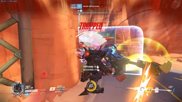 Watch and share Overwatch GIFs and Reinhardt GIFs by edmarc on Gfycat