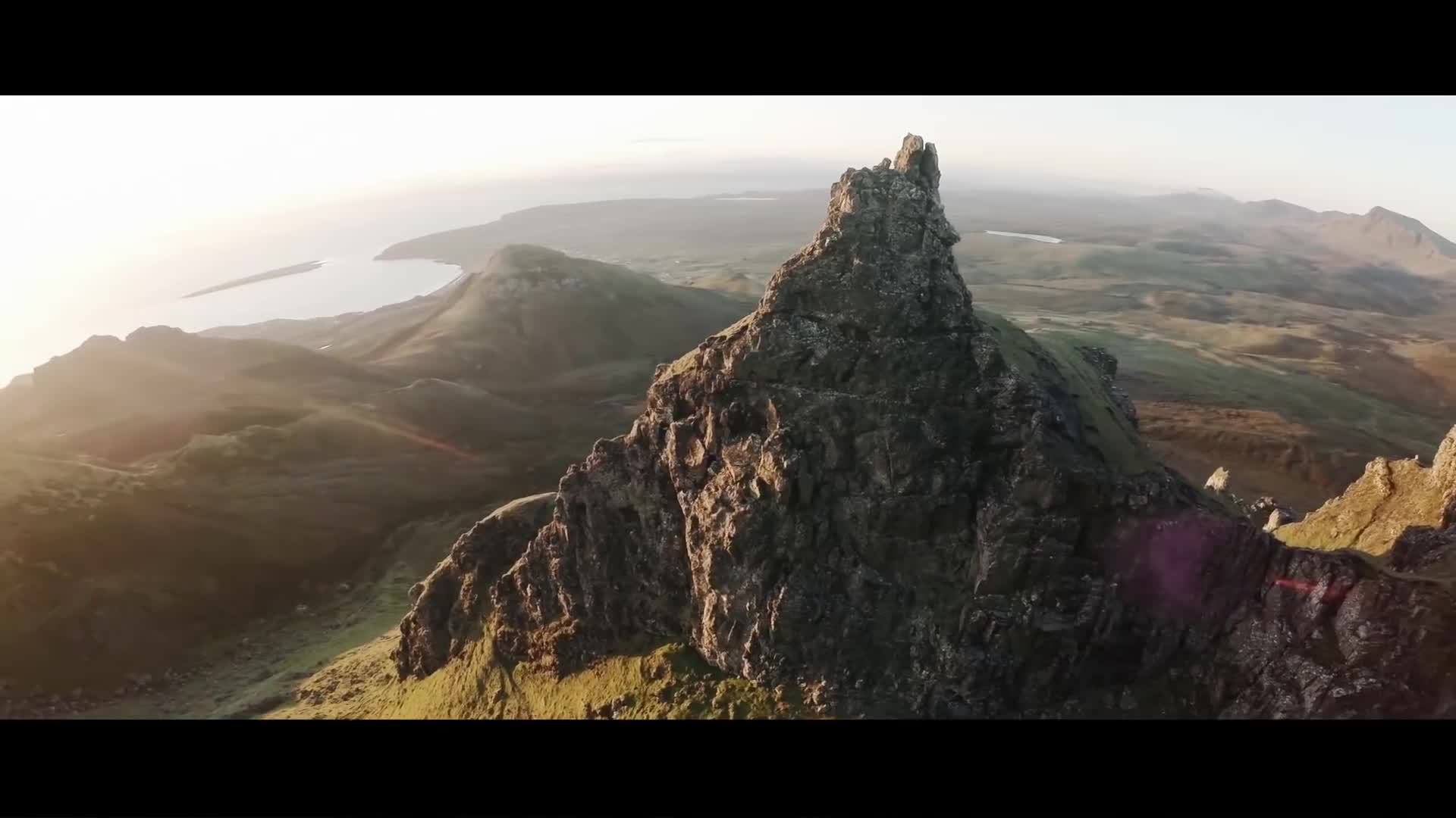 earthgifs, mountains, the kelpies, Beautiful Scotland - Aerial / Drone Showreel GIFs