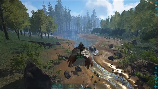 Watch and share Survival Evolved GIFs and Flying Walk GIFs by Oscar Palmer on Gfycat