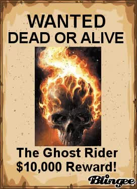 Watch ghost rider wanted poster GIF on Gfycat. Discover more related GIFs on Gfycat