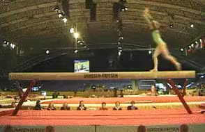 Watch Balance Beam Somersault Tur GIF on Gfycat. Discover more related GIFs on Gfycat