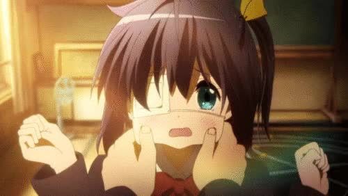 Watch this oh you GIF by Geo (@geoholyhart) on Gfycat. Discover more anime, rikka GIFs on Gfycat