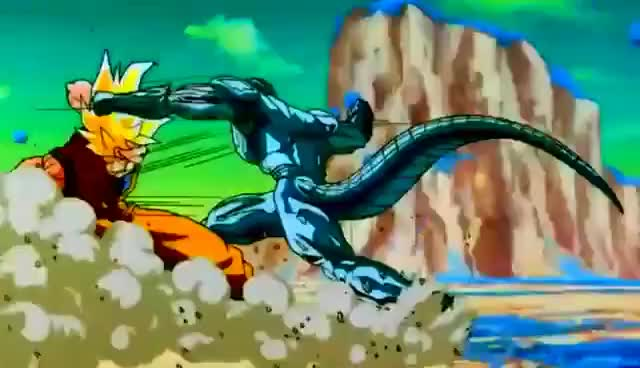 Watch and share SSJ Goku Vs Meta Cooler Englisch Version GIFs on Gfycat