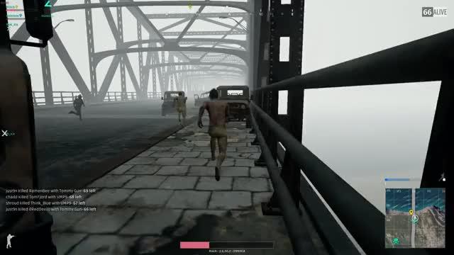 Shroud vs 96 man zombie horde