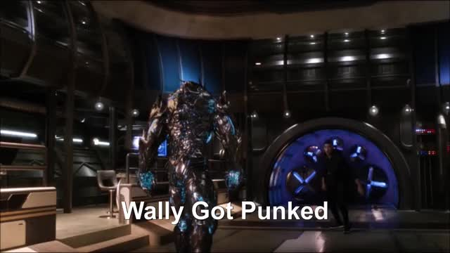 Watch and share The Flash 3x09-Barry And Wally VS Savitar GIFs on Gfycat