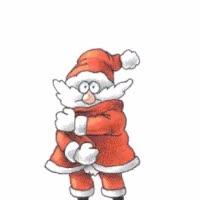 Watch and share Christmas Santa GIFs on Gfycat