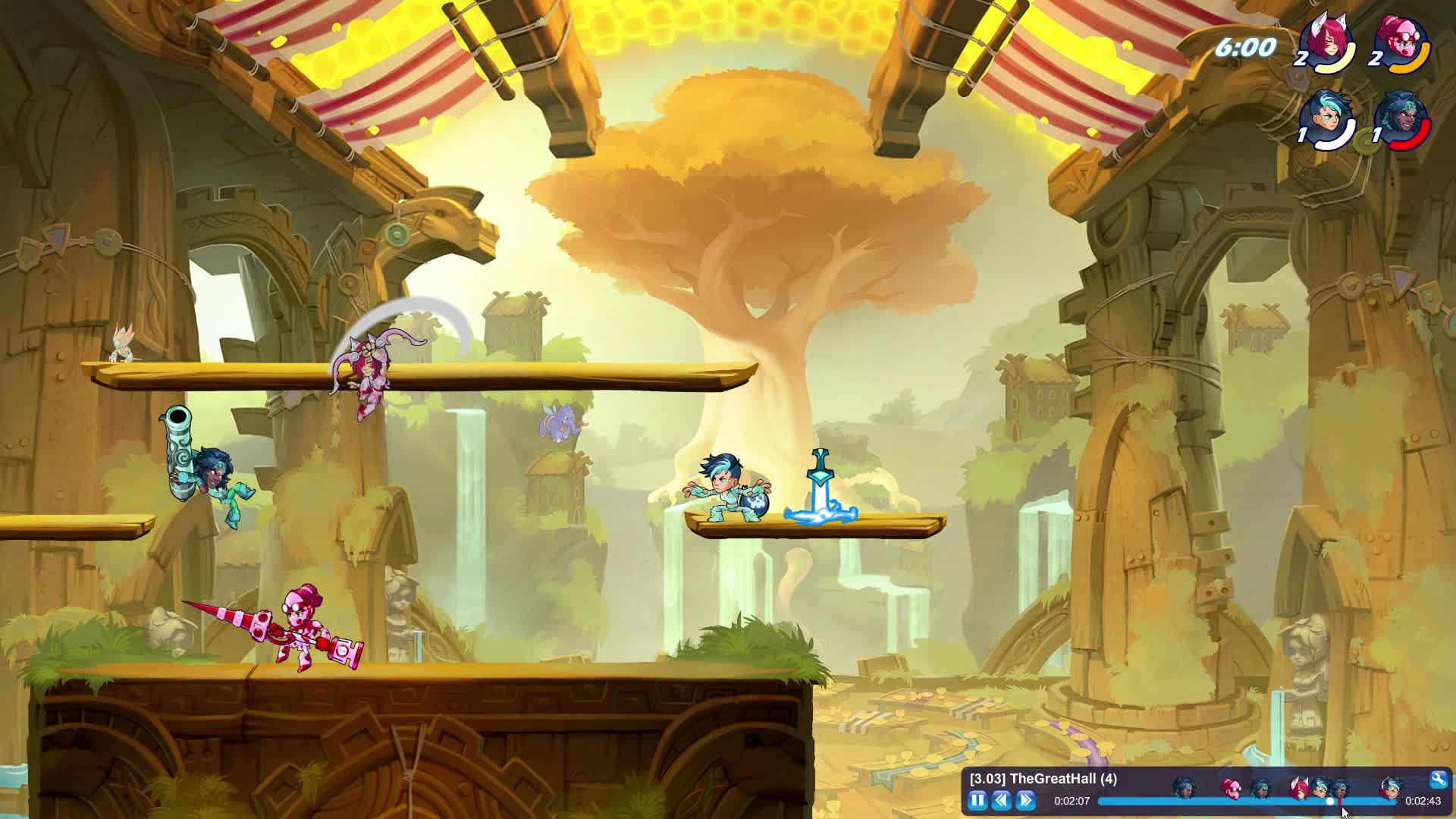 2v2, Brawlhalla, calculated, fighting, game, Calculated? GIFs