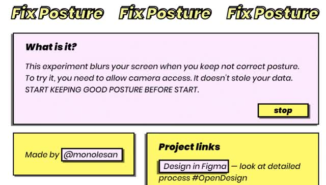 This site goes blurry when you slouch | PC Gamer