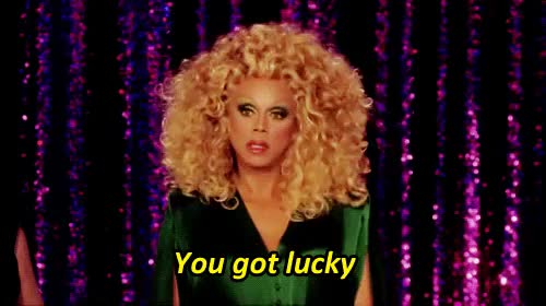 Watch this luck GIF on Gfycat. Discover more luck, lucky, lucky you, rupaul GIFs on Gfycat