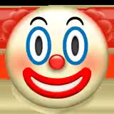 Watch and share Clown-face_1f921 animated stickers on Gfycat