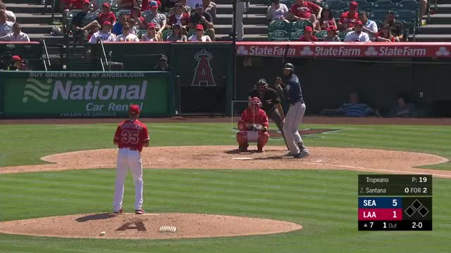 Watch and share Los Angeles Angels GIFs and Seattle Mariners GIFs on Gfycat
