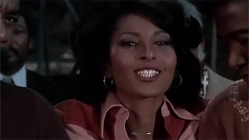 Watch and share Pam Grier GIFs and Kiss GIFs on Gfycat