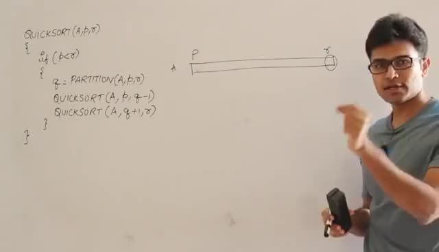 Watch and share Algorithms Lecture 9 -- Quick Sort Algorithm GIFs on Gfycat