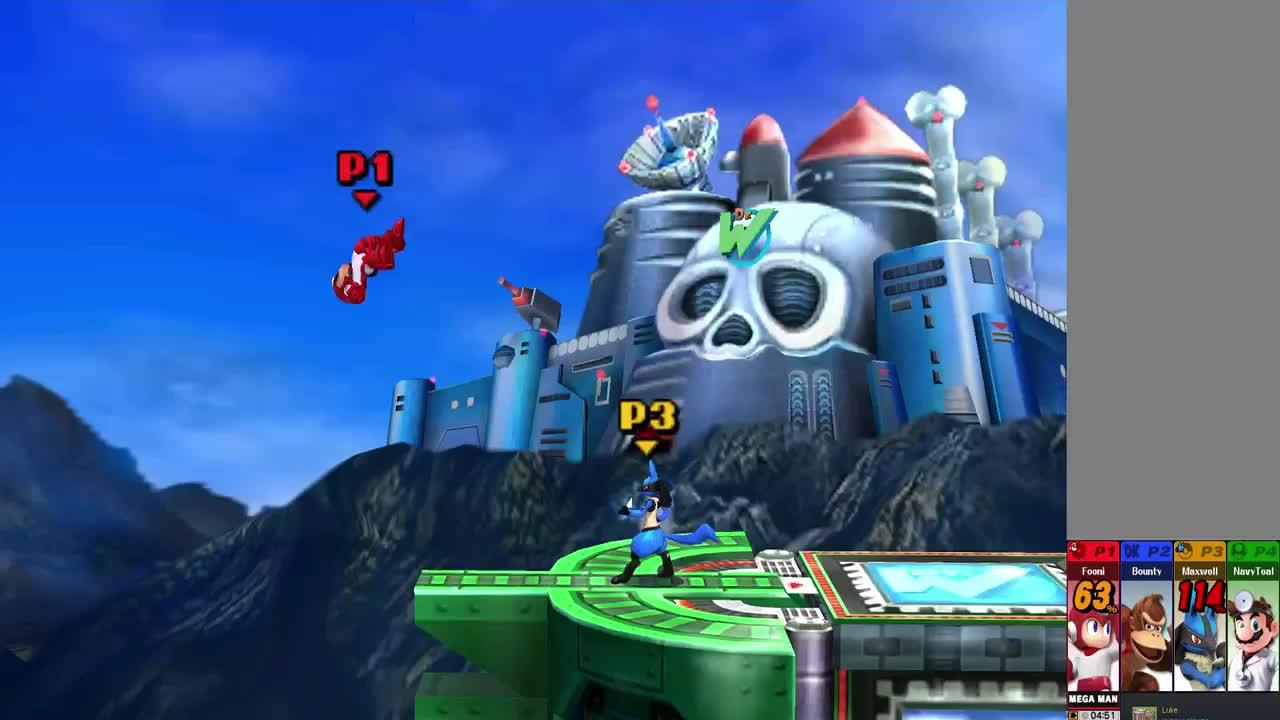 3DS, Fooni, Lucario, Maxell, Megaman, Smash 4, Uppercut, Smash 4(3DS) - Fooni's KO GIFs