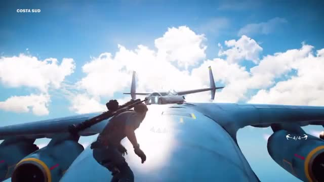 Watch Driving on a Crashing Cargo Plane - Just Cause 3 Movie Stunts GIF by ThePyrotechnician (@thepyrotechnician) on Gfycat. Discover more gaming, just cause 3, thepyrotechnician gaming GIFs on Gfycat