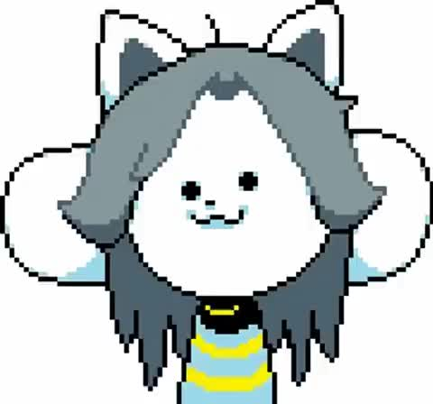 Watch and share There Is Only Temmie GIFs on Gfycat