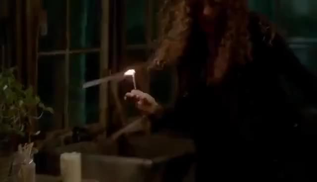 Watch and share The Vampire Diaries: 8x12 - Bonnie's Dying And Abby Burns Enzo's Body For Save Her [HD] GIFs on Gfycat
