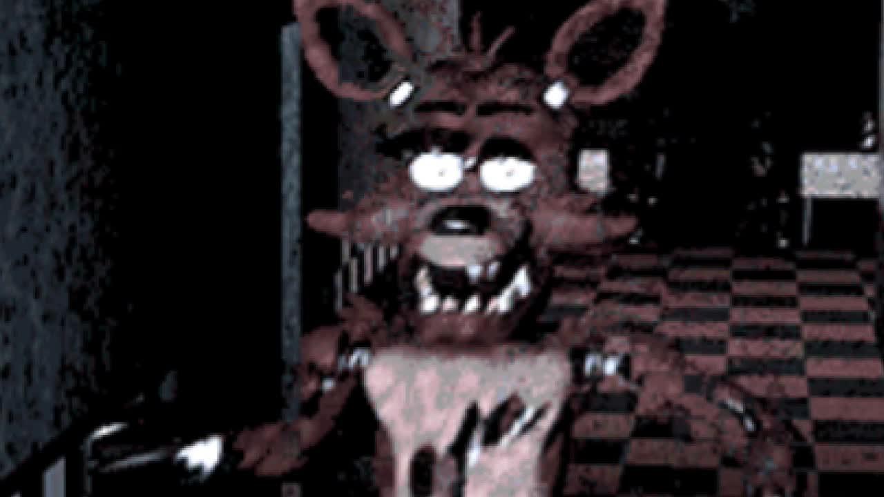 5 Nights At Foxys foxy running sound - five nights at freddy's gifmidnight foxgirl