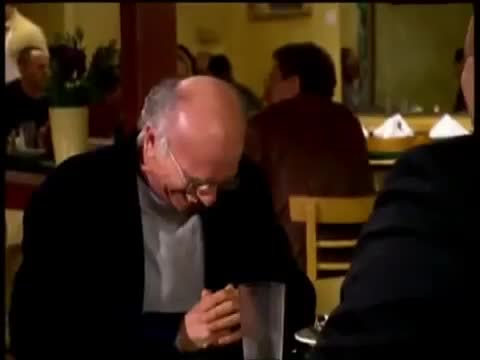 curb your enthusiasm, curb-your-enthusiasm---season-6---outtakes, gif brewery, haha, larry david, laugh, laughing, lol,  GIFs