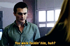 *, carrie mathison, carrie x quinn, character gifset, claire danes, episode gifset, fourth gif remains the best forever and always, homeland, homelandedit, it's interesting note this is the most screentime they've ever had together in an episode, new car smell, peter quinn, rupert friend, season four countdown, HELL YEAH HOMELAND GIFs