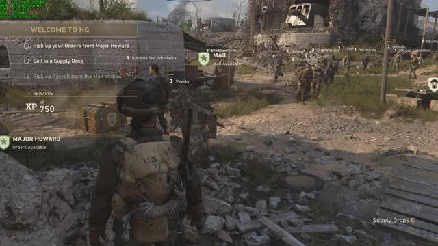 Watch and share Call Of Duty WWII 02.NOV.2017 - 23.56.19.01 GIFs on Gfycat