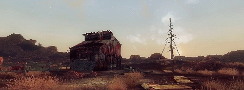 fallout, fallout nv, fnv, gifs, requested, scenery, Good Morning Mojave. GIFs