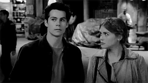 Watch and share Stiles Stilinski GIFs and Stiles And Lydia GIFs on Gfycat
