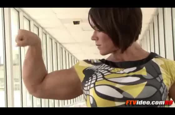 Confirm. huge female bodybuilder aleesha young
