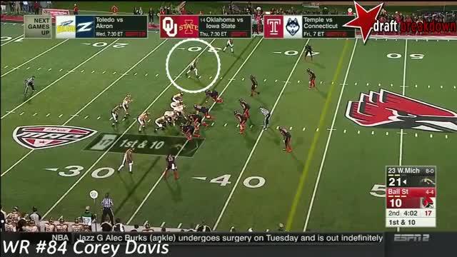 Watch and share Corey Davis Vs Ball State(2016) GIFs by danielrmcm on Gfycat