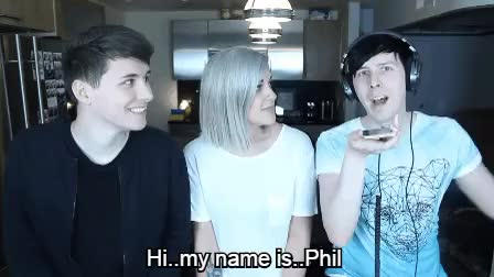 Watch and share Daniel Howell GIFs and Dan And Phil GIFs on Gfycat