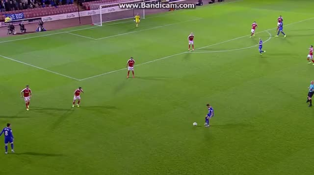 Watch Kevin Mirallas Goal vs. Barnsley GIF on Gfycat. Discover more soccer GIFs on Gfycat