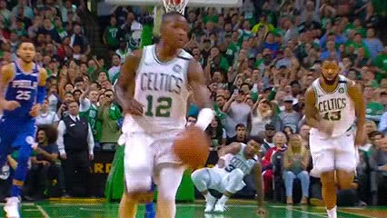 Watch Terry Rozier and Jayson Tatum — Boston Celtics GIF by Off-Hand (@off-hand) on Gfycat. Discover more 050318 GIFs on Gfycat