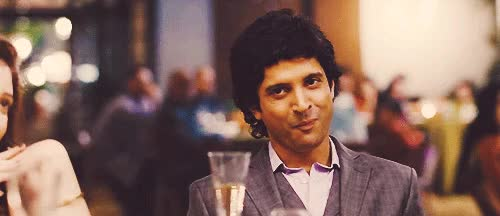 Watch and share Image Result For Farhan Akhtar Making Toast In ZNMD GIFs on Gfycat