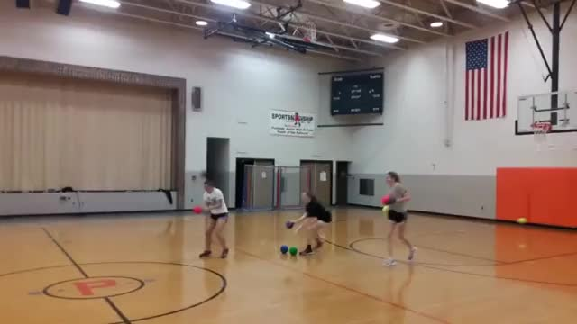 Watch and share When The Softball Player Joins The Dodgeball Team GIFs on Gfycat