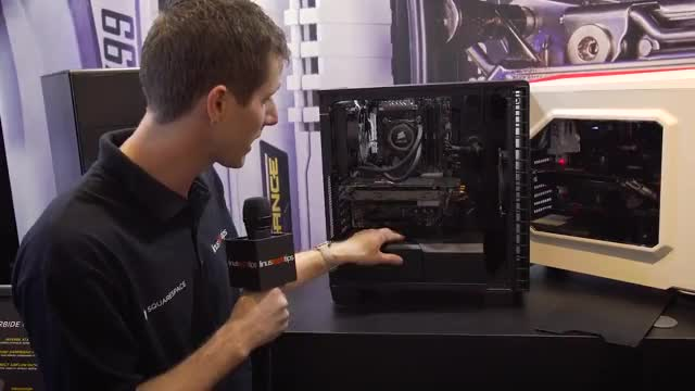 Watch Corsair Fires Shots at the $99 Case Market - 400C & 400Q - CES 2016 GIF by @woso on Gfycat. Discover more $100, 400C, pcmasterrace GIFs on Gfycat