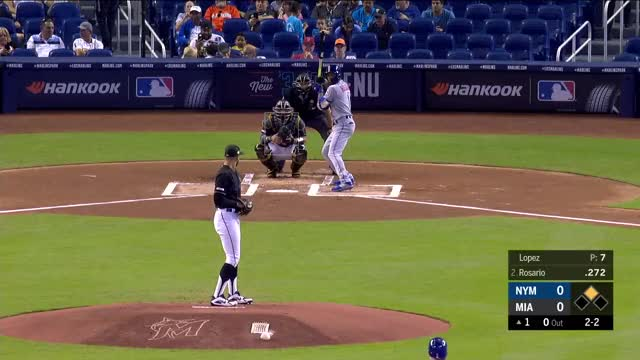 Watch and share Miami Marlins GIFs and Baseball GIFs by r_amore on Gfycat