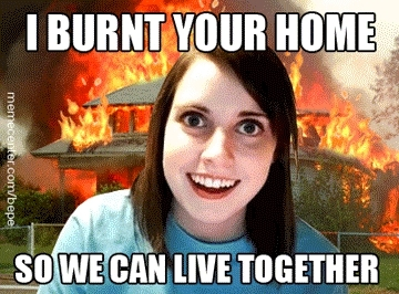 meme, memes, overly attached girlfriend,  GIFs