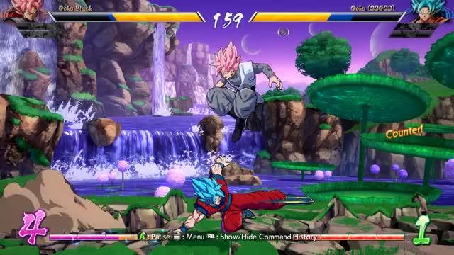 Watch and share Goku Black Op GIFs on Gfycat