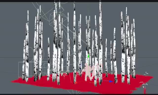 Watch and share 2019-04-10 11 23 57-CINEMA 4D R19.053 Studio (RC - R19) - [Trees6.c4d ] - Main GIFs on Gfycat